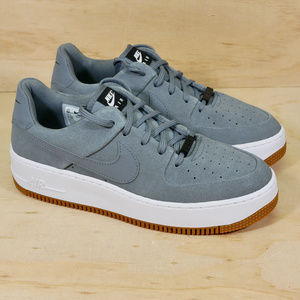 Nike Air Force 1 Sage Low Grey White NEW
